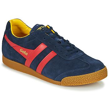Scarpe Uomo Sneakers basse Gola HARRIER Marine / Rosso