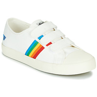 Scarpe Donna Sneakers basse Gola COASTER RAINBOW VELCRO Bianco