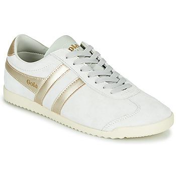 Scarpe Donna Sneakers basse Gola BULLET PEARL Bianco / Oro