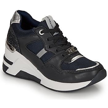 Scarpe Donna Sneakers basse Tom Tailor 8091512 Marine / Nero