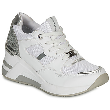 Scarpe Donna Sneakers basse Tom Tailor  Bianco / Argento