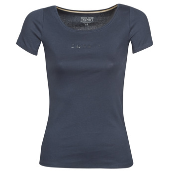 Abbigliamento Donna T-shirt maniche corte Esprit T-Shirts logo Marine