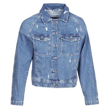 Abbigliamento Donna Giacche in jeans Esprit  Blu / Medium