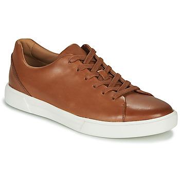 Scarpe Uomo Sneakers basse Clarks UN COSTA LACE Tan