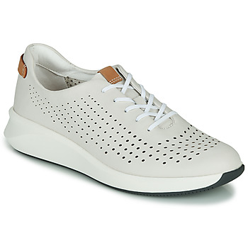 Scarpe Donna Sneakers basse Clarks UN RIO TIE Bianco
