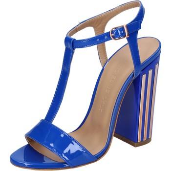 Scarpe Donna Sandali Marc Ellis sandali vernice blu