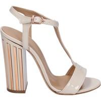 Scarpe Donna Sandali Marc Ellis sandali vernice beige