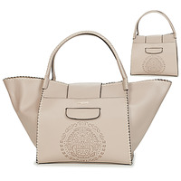 Borse Donna Tote bag / Borsa shopping Desigual TRIBAL ZARIA MEDIUM Beige