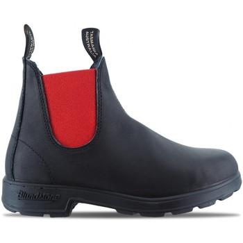 Scarpe Uomo Stivaletti Blundstone 508 El Side Boot Nero  BSTBCCAL0020 0508 88 Nero