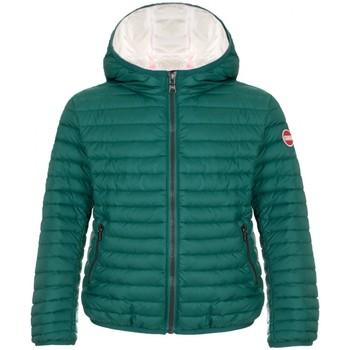 Abbigliamento Unisex bambino Piumini Colmar Piumino Semilucido Con Cappuccio Concret Verde