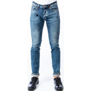 Abbigliamento Uomo Jeans slim Michael Coal DAVID 1073W322 Jeans Uomo Uomo Blu Blu