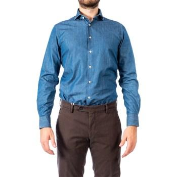 Abbigliamento Uomo Camicie maniche lunghe Xacus 51545 003 722 Blu