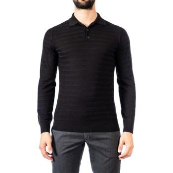 Abbigliamento Uomo Maglioni Become 539263A/09 NER Maglia Uomo Uomo Nero Nero