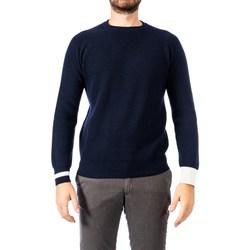 Abbigliamento Uomo Maglioni Become 519227A 03 BLU Maglia Uomo Uomo Blu Blu