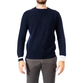 Abbigliamento Uomo Maglioni Become 519227A 03 BLU Blu