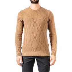 Abbigliamento Uomo Maglioni Become 519218A 08 CAM Cammello
