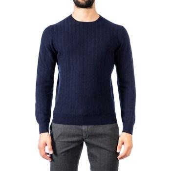Abbigliamento Uomo Maglioni La Fileria 57110/19618/598 BLU Maglia Uomo Uomo Blu Blu