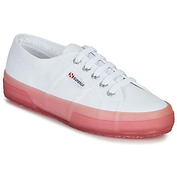 Scarpe Donna Sneakers basse Superga 2750-JELLYGUM COTU Bianco