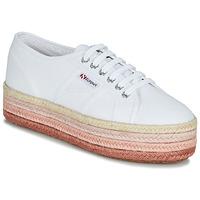 Scarpe Donna Sneakers basse Superga 2790-COTCOLOROPEW Bianco / Rosa