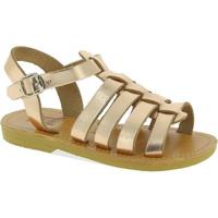 Scarpe Bambina Sandali Attica Sandals Sandali gladiatore bambina persephone by attica in pelle lam oro