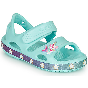Scarpe Bambina Sandali Crocs FUNLAB UNICORN SANDAL Blue