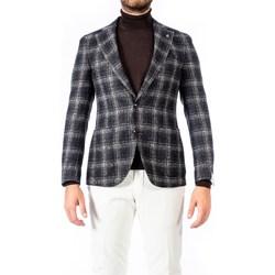 Abbigliamento Uomo Giacche / Blazer Lubiam Sartoria 92120/2/2140 Giacca Uomo Uomo Blu Blu