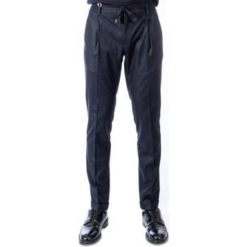 Abbigliamento Uomo Chino Michael Coal JOHNNY 3425 BLU Pantalone Uomo Uomo Blu Blu