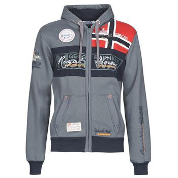 Abbigliamento Uomo Felpe Geographical Norway FLYER Grigio / Scuro