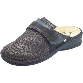 Scarpe Donna Pantofole Sabatini ntofole Donna camoscio leopardato t. moro sottopiede estraibile T. Moro