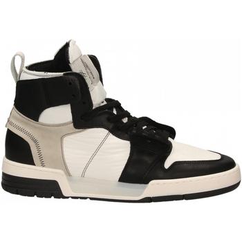 Scarpe Uomo Sneakers alte Lemaré HI-MAN JON nero