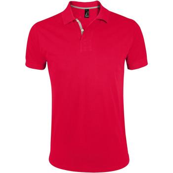 Abbigliamento Uomo Polo maniche corte Sols PORTLAND MODERN SPORT Rojo