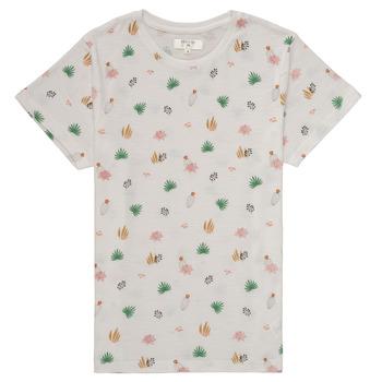 Abbigliamento Bambina T-shirt maniche corte Deeluxe ELINA Bianco