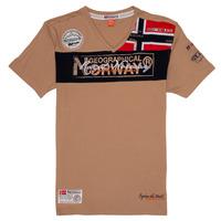 Abbigliamento Bambino T-shirt maniche corte Geographical Norway JIDNEY Beige