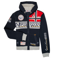 Abbigliamento Bambino Felpe Geographical Norway FLYER Marine