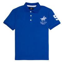 Abbigliamento Bambino Polo maniche corte Geographical Norway KAMPAI Blu