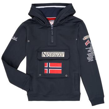Abbigliamento Bambino Felpe Geographical Norway GYMCLASS Marine