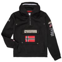 Abbigliamento Bambino Felpe Geographical Norway GYMCLASS Nero