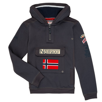 Abbigliamento Bambino Felpe Geographical Norway GYMCLASS Grigio