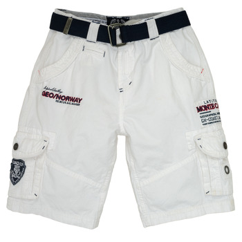 Abbigliamento Bambino Shorts / Bermuda Geographical Norway POUDRE Bianco