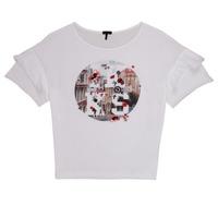 Abbigliamento Bambina T-shirt maniche corte Ikks DIBILIOU Bianco