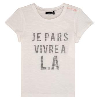Abbigliamento Bambina T-shirt maniche corte Ikks DARRIAL Bianco