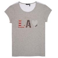 Abbigliamento Bambina T-shirt maniche corte Ikks LILOUSH Grigio
