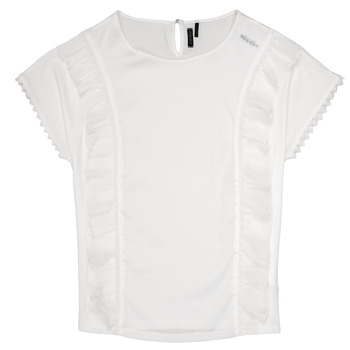 Abbigliamento Bambina Top / Blusa Ikks CHLOE Bianco