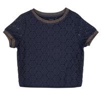 Abbigliamento Bambina Top / Blusa Ikks CLOTHILDE Marine