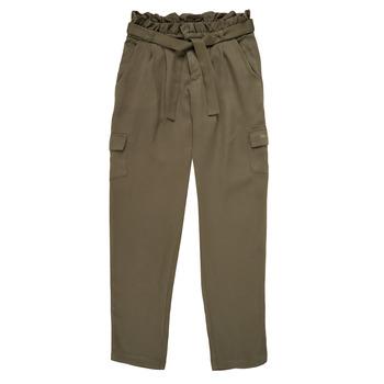 Abbigliamento Bambina Pantaloni morbidi / Pantaloni alla zuava Ikks ELIE Kaki
