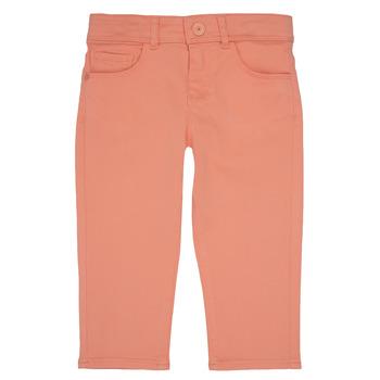 Abbigliamento Bambina Pantaloni 5 tasche Ikks CARLOTTA Arancio