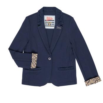 Abbigliamento Bambina Giacche / Blazer Ikks NIKO Marine