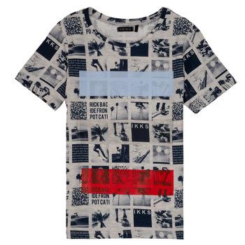Abbigliamento Bambino T-shirt maniche corte Ikks JULIEN Beige