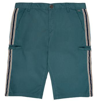 Abbigliamento Bambino Shorts / Bermuda Ikks MANUELA Blu / Verde