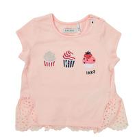 Abbigliamento Bambina T-shirt maniche corte Ikks DANIA Rosa